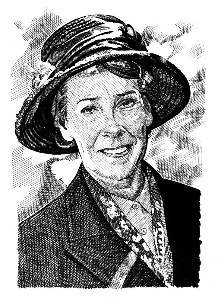 Phyllis Logan by Stefanosart